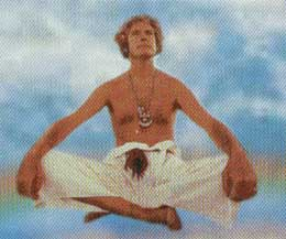 Timothy Leary in Meditatie